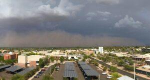 Monsoons impact Phoenix Offices