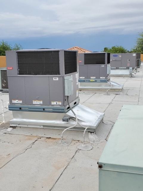 Fully installed new HVAC
